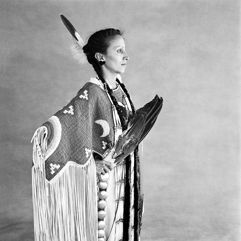© Christine Turnauer – Jennifer Dubray, Oglala - Sioux, 1986