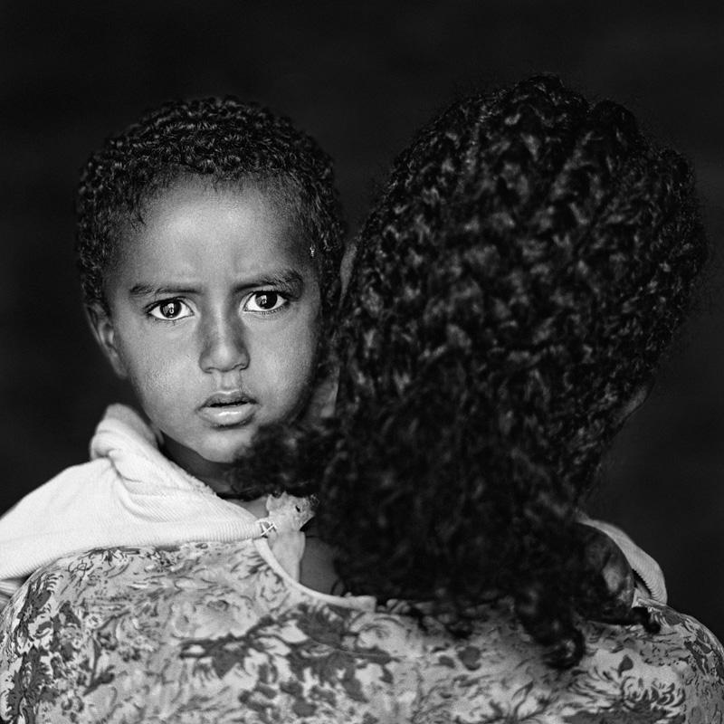 © Christine Turnauer, PRESENCE series, Madin Aregawe with her son, Ethiopia, 2011