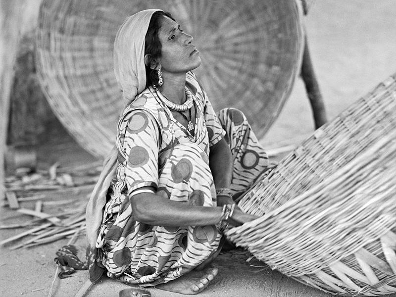 © Christine Turnauer – Sharada, basket-maker, India, 2015