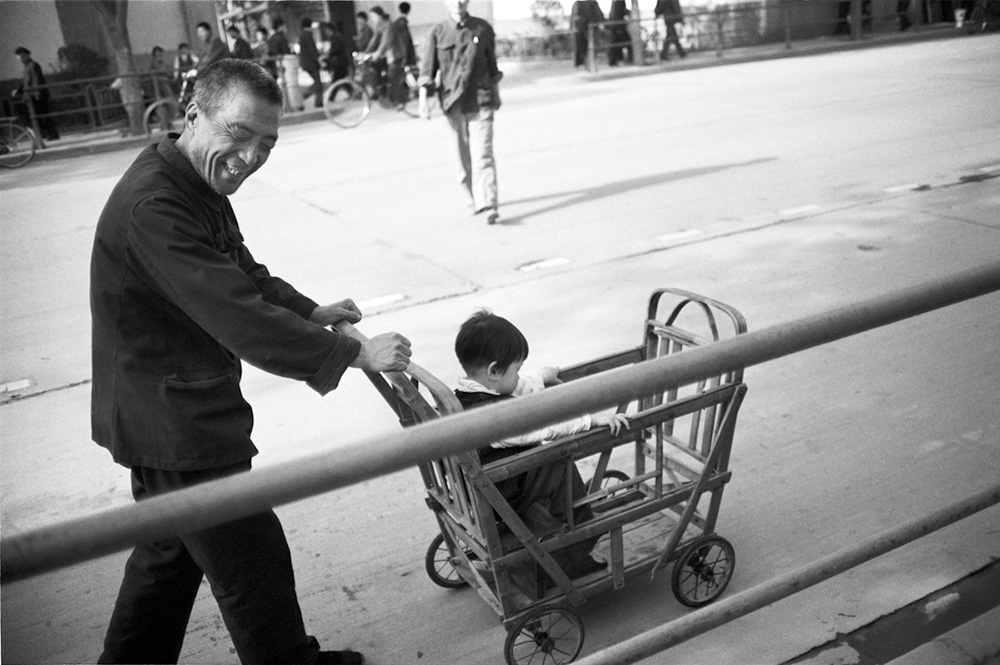 © Christine de Grancy – China 1984-1986, Spring day in Xi'an, 1984