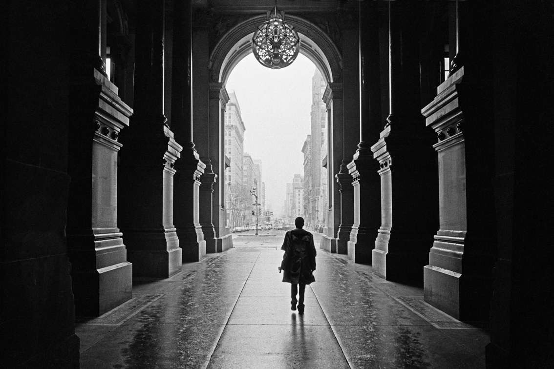 ©Wei-Ming Yuan, Passageway of Philadelphia City Hall, 1980